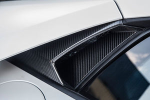 LAMBORGHINI HURACAN NOVITEC AIR INTAKE SIDE WINDOWS