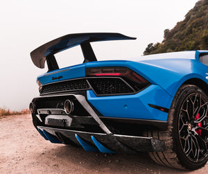 LAMBORGHINI HURACAN PERFORMANTE 1016 INDUSTRIES REAR DIFFUSER