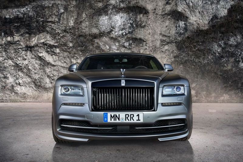 ROLLS ROYCE WRAITH - NOVITEC FRONT BUMPER (WITH INSERTS)