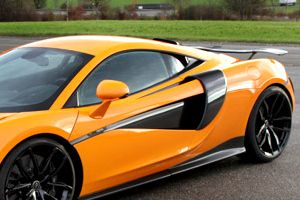 MCLAREN 570S / 570GT NOVITEC - SIDE AIR INTAKE COVERS (CARBON)