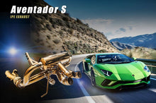 Load image into Gallery viewer, LAMBORGHINI AVENTADOR S LP740-4 IPE TITANIUM EXHAUST SYSTEM