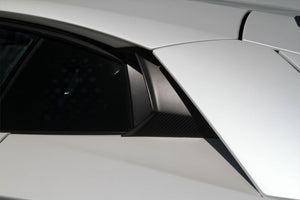 LAMBORGHINI AVENTADOR NOVITEC REAR WINDOW AIR INTAKES