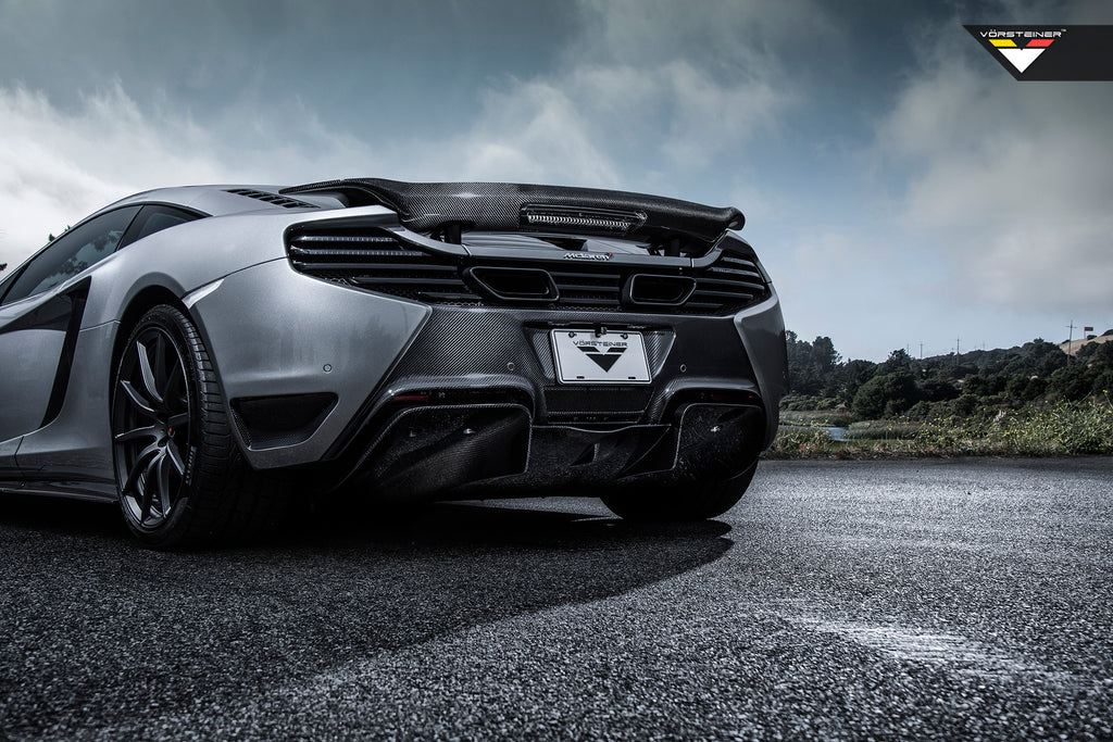 MCLAREN MP4-12c VORSTEINER REAR BUMPER