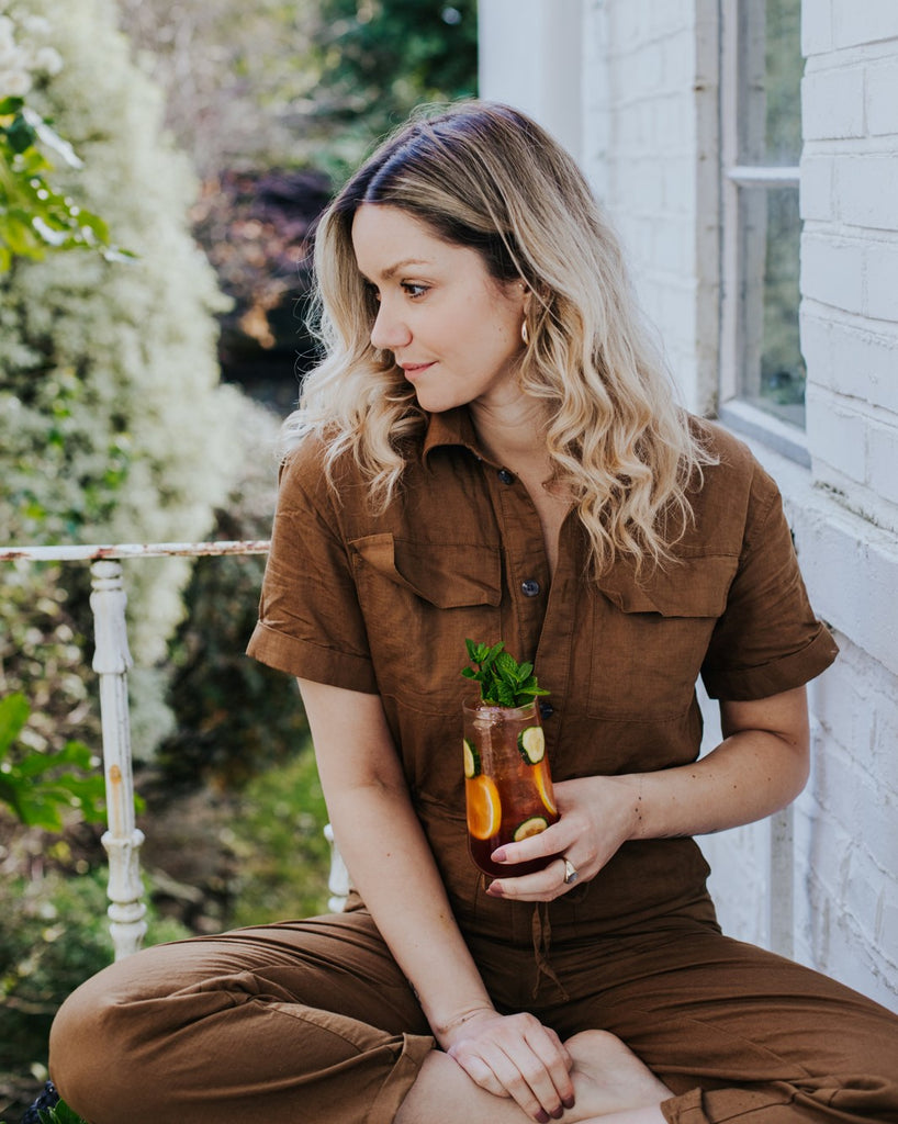 Camille Vidal of La Maison Welllness, a platform dedicated to the conversation of mindful cocktails and conscious consumption