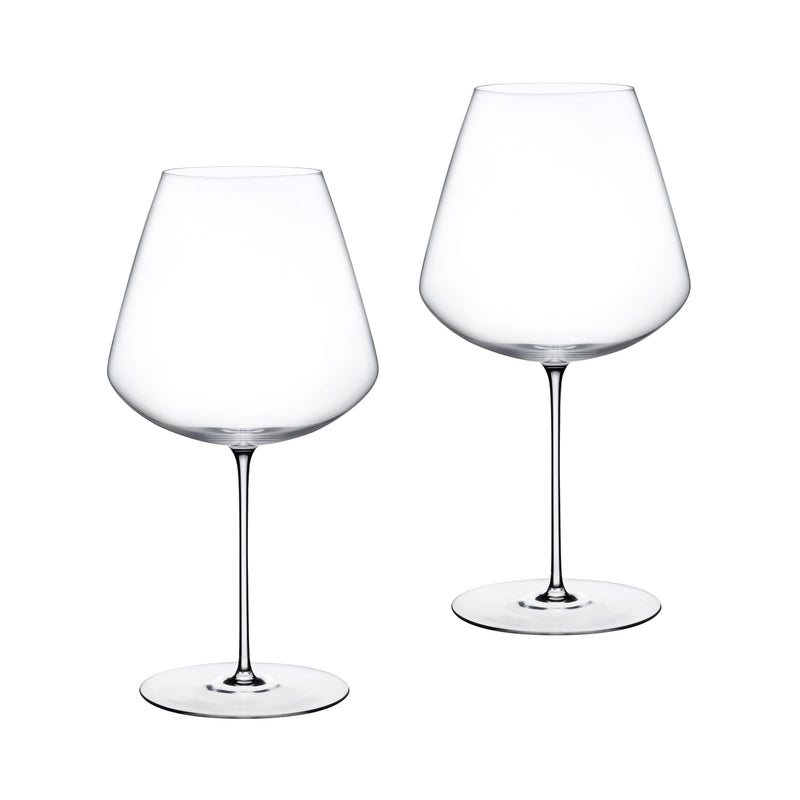 Stem Zero@Set of 2 Elegant Red Wine Glasses Large