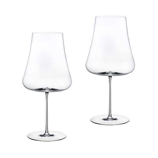 Stem Zero@Set of 2 Volcano Red Wine Glasses
