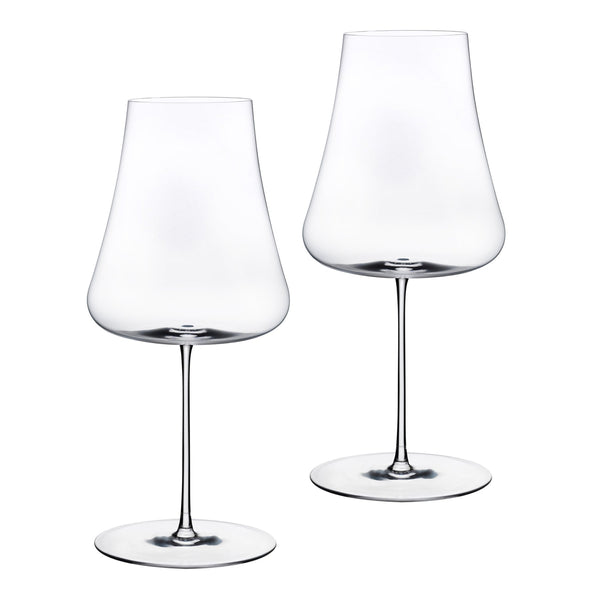 Stem Zero@Set of 2 Volcano White Wine Glasses