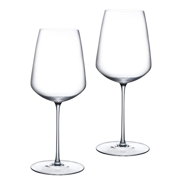 Stem Zero@Set of 2 Powerful Red Wine Glasses