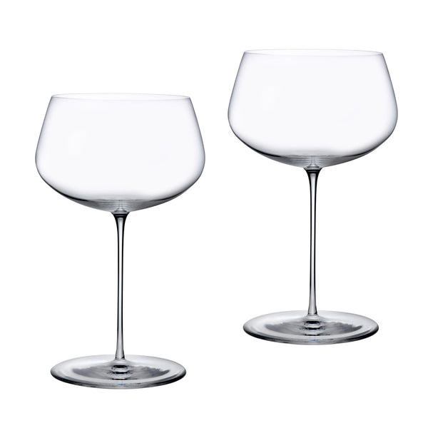 Stem Zero@Set of 2 Full Bodied White Wine Glasses