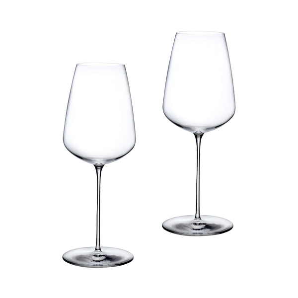 Stem Zero@Set of 2 Delicate White Wine Glasses