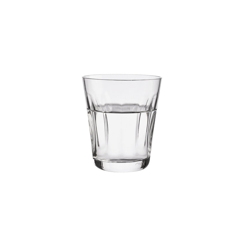 NUDE Lady leadfree crystal tumbler in clear filled with water