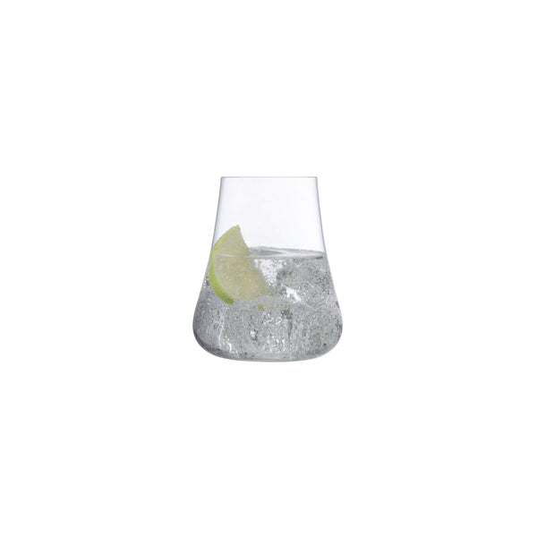 NUDE Stem Zero Volcano glass filled with water