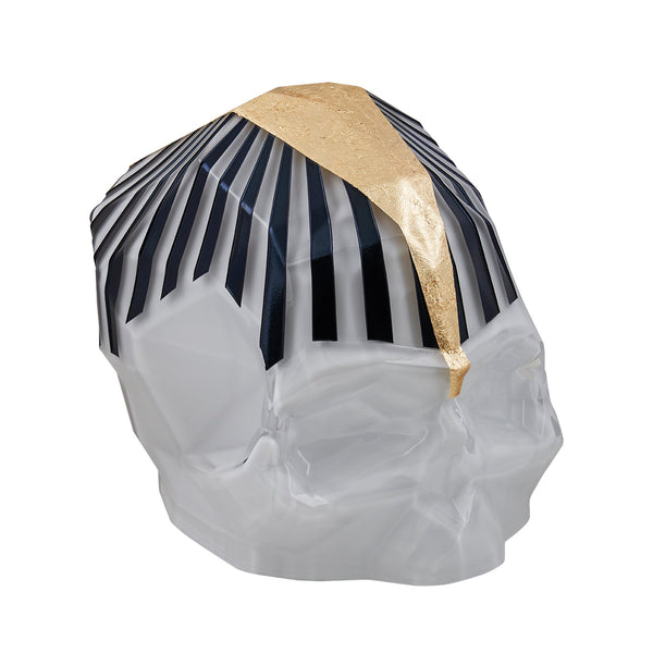 NUDE Rock and Pop Artist Collection Skull Large by Umut Karaman version 2 side view