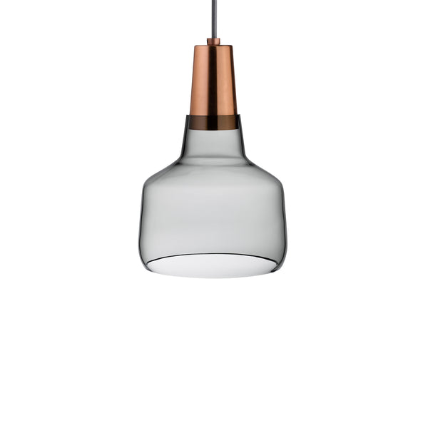 Mono@Lamp Smoke with Copper Socket Small