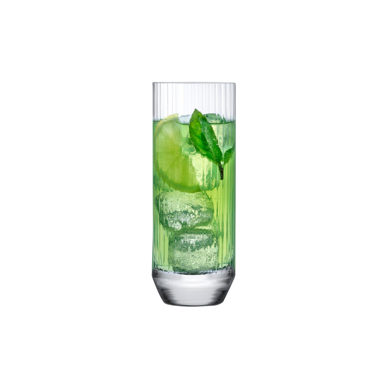 Big Top@Set of 4 High Ball Glasses 320 cc