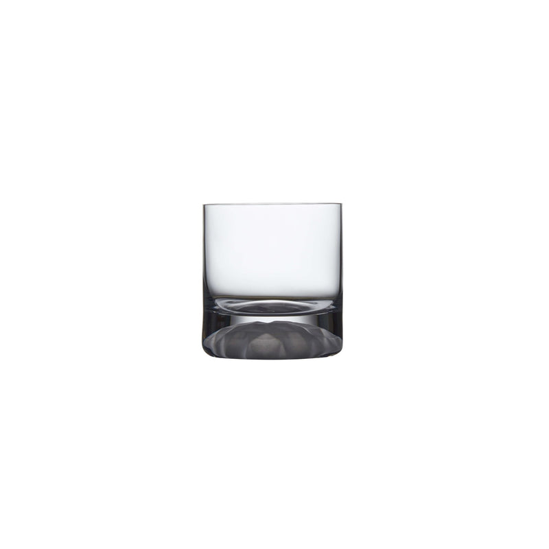 Club Ice@Set of 4 Whisky Glasses with Frosted Ripple Effect