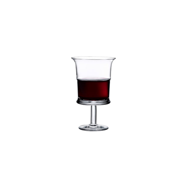 Jour@Set of 2 Red Wine Glasses