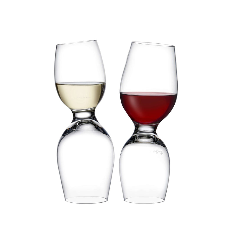 Red Or White@Set of 2 Wine Glasses