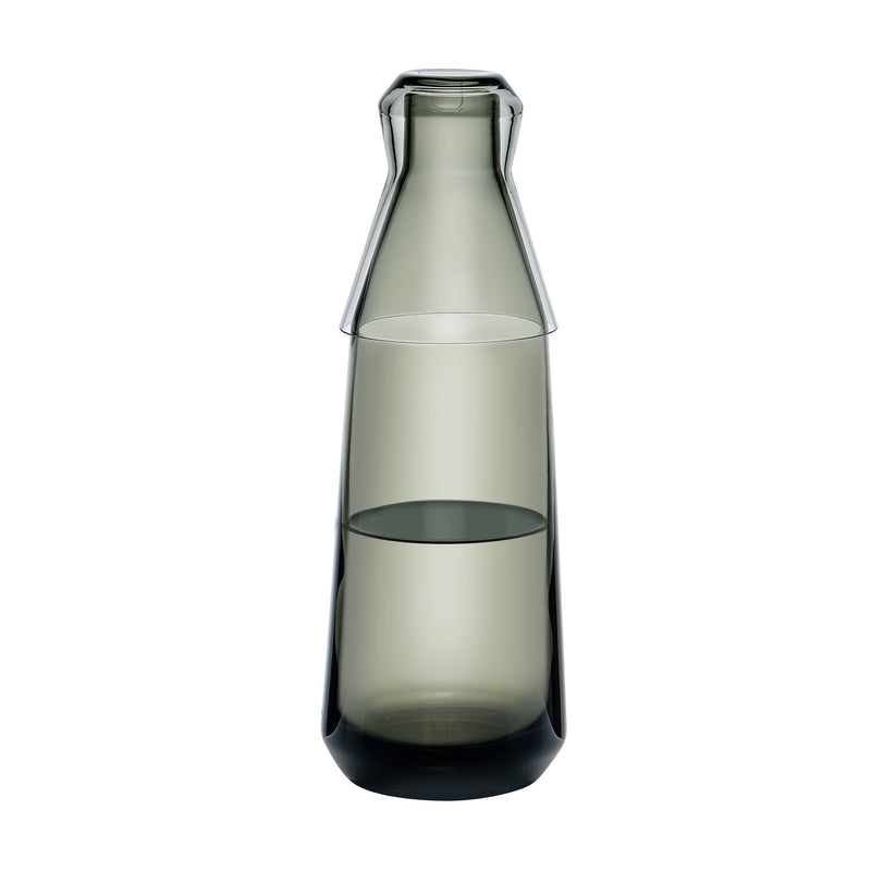 Rhythm@Water Carafe with Glass Smoke