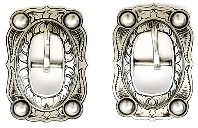 022320-Oval Concho Buckle
