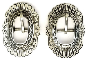 040820-Oval Concho Buckle