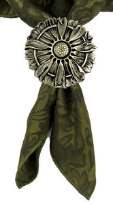 070116 Concho Sunflower of bronze by Horse Shoe Brand Tools