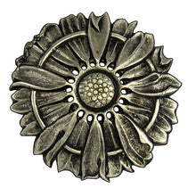 Load image into Gallery viewer, 070116 Concho Sunflower of bronze by Horse Shoe Brand Tools