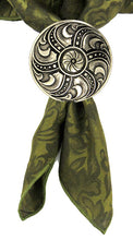 Load image into Gallery viewer, 081716 Vintage Button Concho of bronze by Horse Shoe Brand Tools