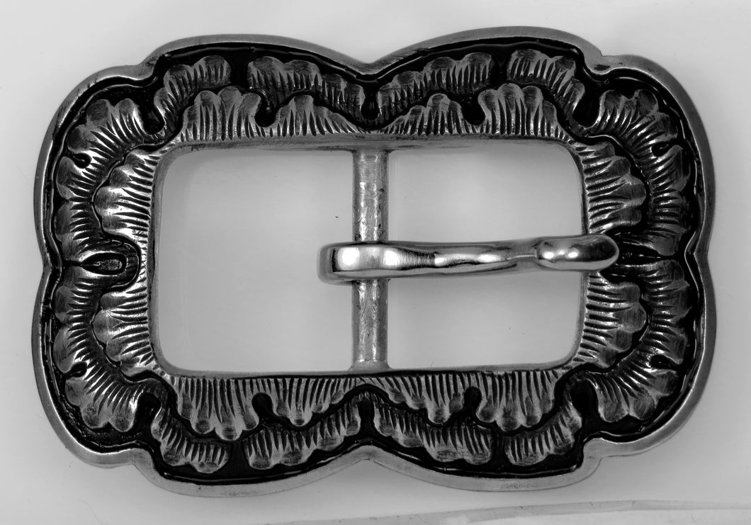 042517 Peony Centerbar Buckle, bronze by Horse Shoe Brand Tools
