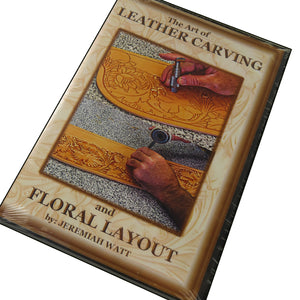 122818-DVD- Leather Carving & Layout
