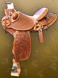 Saddle- Watt Bros. Saddle-saddletree made by Jeremiah Watt