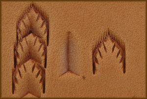 Border Stamp- Wheat Leaf