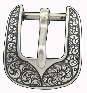 SKU-033019-Heel Buckles in bronze by Horse Shoe Brand Tools