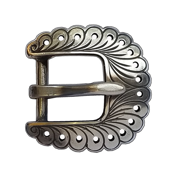 120418 Heel Buckle of bronze by Horse Shoe Brand Tools