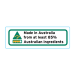 Made In Australia From At Least 85% Australian Ingredients Stickers – 3cm x 1cm - Country Of Origin Stickers