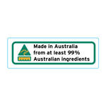 Made In Australia From At Least 99% Australian Ingredients Stickers – 3cm x 1cm - Country Of Origin Stickers