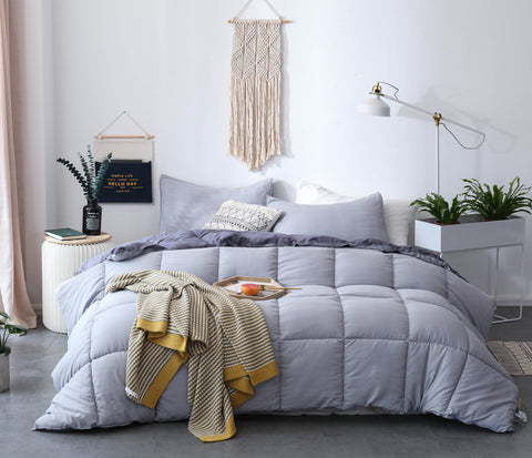 Down-alternative Comforter Set