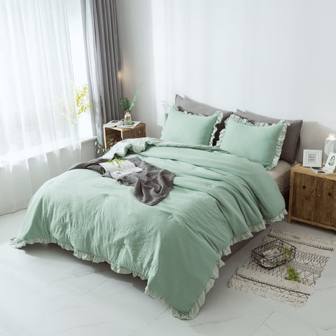 Green Bedding Set
