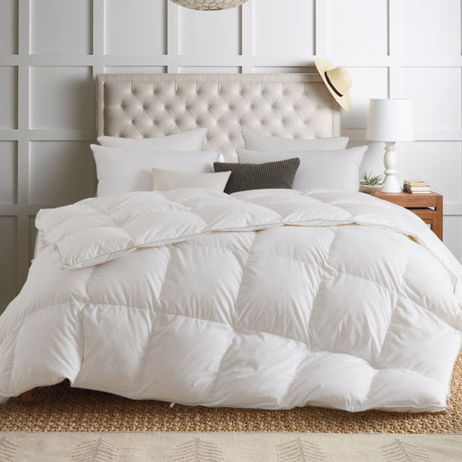 Kasentex Premium Optimum Warmth White Down Comforter Duvet Insert with Tabs - Kasentex