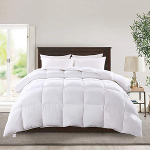 KASENTEX Premium Luxurious White Feather Goose Down Comforter - Kasentex