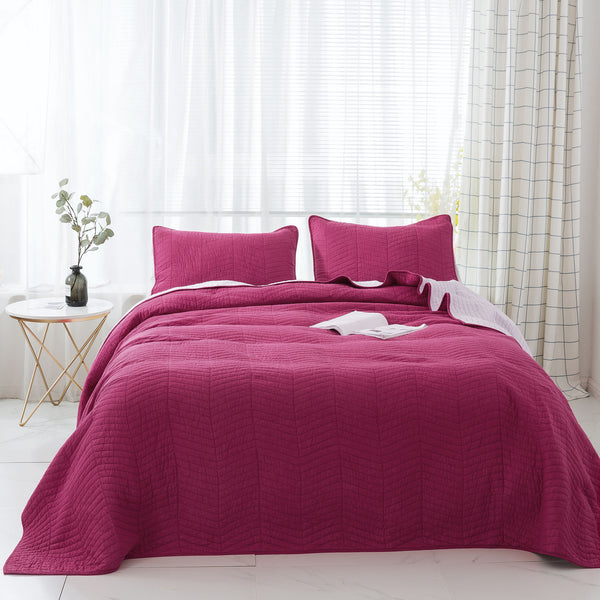 Kasentex Softest Premium Cotton Oversized Bedspread Set - Kasentex