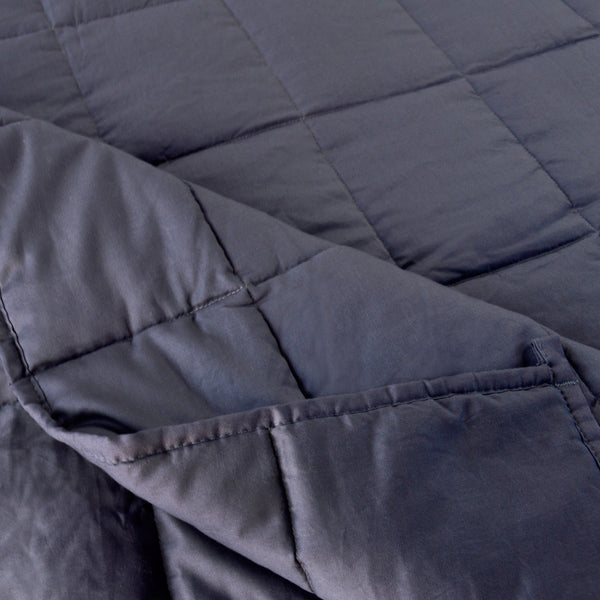 kasentex - KASENTEX All Season Weighted Blanket With Corner Loops. Hypoallergenic and Machine Washable - Kasentex -
