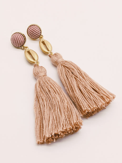 Annabelle Hardie Cowrie Shell Earrings