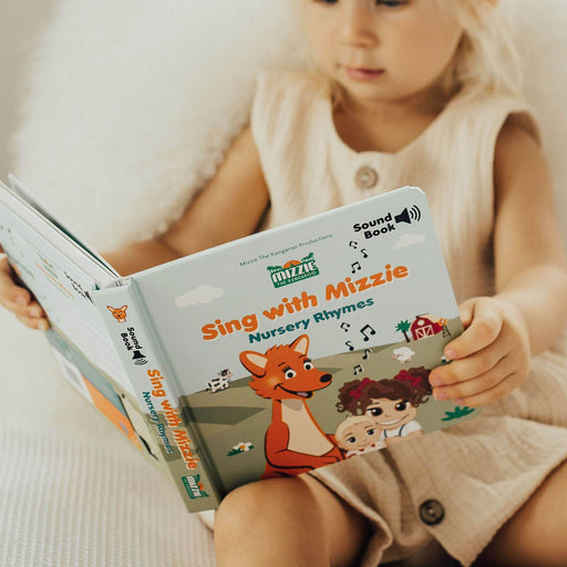 Mizzie The Kangaroo Sound Book - Sing with Mizzie Nursery Rhymes