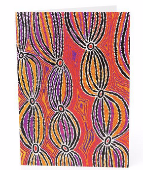 Gift Cards in a range of Indigenous prints
