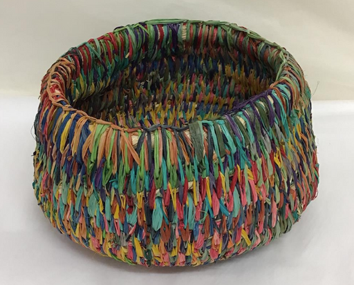 Moa Arts Woven Basket - Paula Savage medium