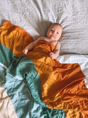 Savannah & Three Swaddle - Desert Rainbow Baby Wrap