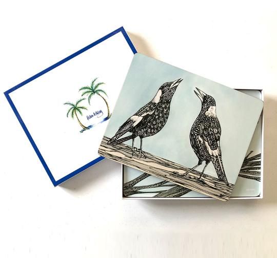 Helen Ashley Coaster Sets - Australian Flora & Fauna