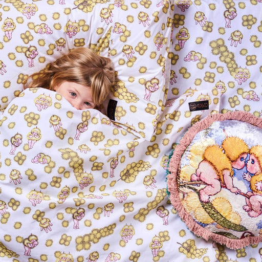 May Gibbs x Kip&Co Duvet Cover - Wattle Babies