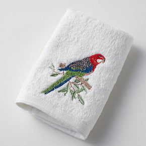 Pilbeam Embroidered Hand Towels and Face Washer Sets - Australian Flora & Fauna